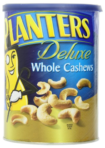 Planters Deluxe Whole Cashews, 18.25 Ounce