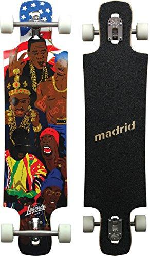 Madrid Maniac 'Top-Mount Longboard, Legends, 39.25 Zoll