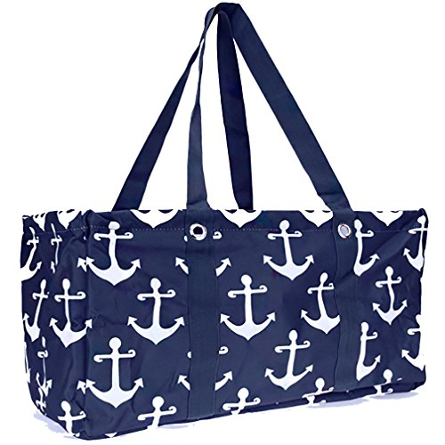 Wireframe All Purpose Large Utility Bag (Navy Anchor)