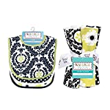 Bouquet Set - Waverly Rise And Shine - Bib And Burp Cloth 71234
