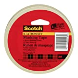 Scotch Masking Tape, Stationery Masking Tape, 19mm x 54.8m, 1 Roll, (3436-C)