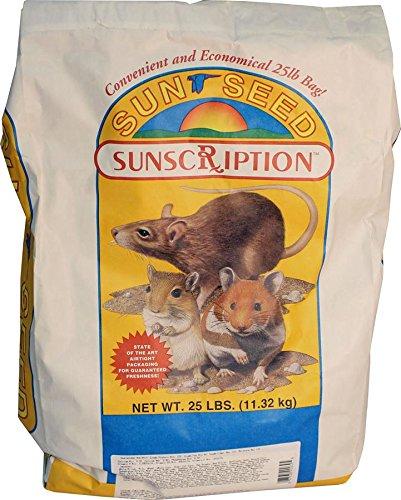 Sun Seed Company Sss90039 Vita Daily Diet Hamster/Gerbil Food, 25-Pound