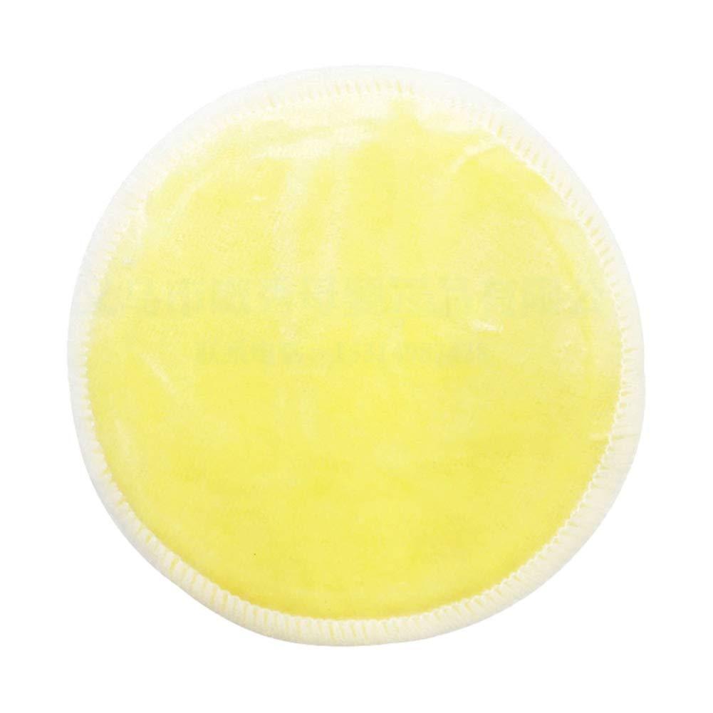16pack Bambus Baumwolle Makeup Remover Pads Organische Wiederverwendbare Makeup Remover Pads Runde Wipes Skin Care Wash Mikrofasertuch Runden F/ür Den T/äglichen Gebrauch Reisetasche Inklusive