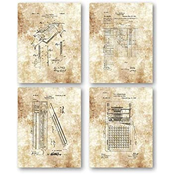 Accountant Patent Art Print CPA Bookkeeper Accounting Service Office Wall Decor