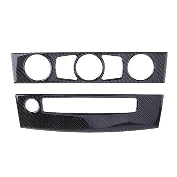 Trentyest 4pcs Interior Tirador de Puerta Cuenco Cubierta para BMW E70 X5 08-13 E71 X6 09-14: Amazon.es: Coche y moto