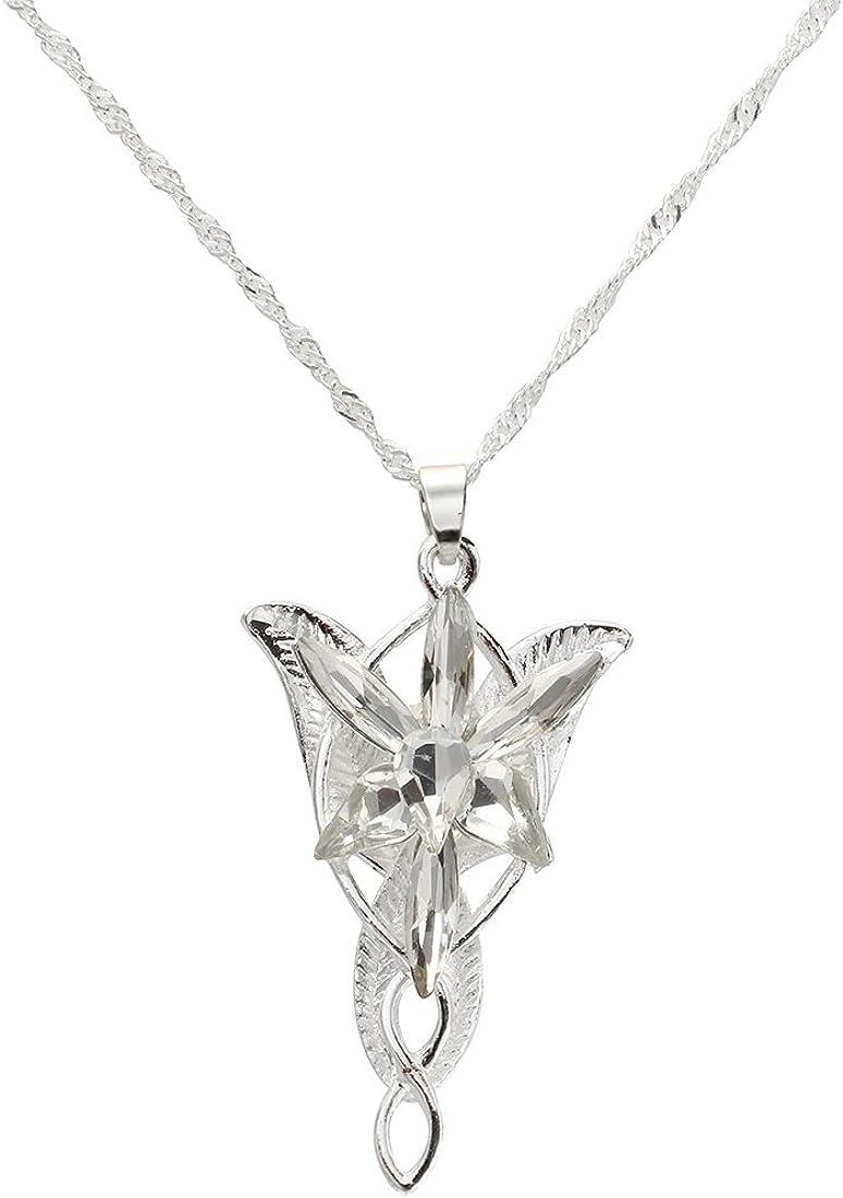 REFURBISHHOUSEl Senor de los Anillos-Arwen - Colgante Estrella de la Tarde: Amazon.es: Joyería