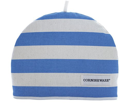 T&G Cornishware Blue and White Striped Tea Cosy Cozie 7CNH04 by T&G