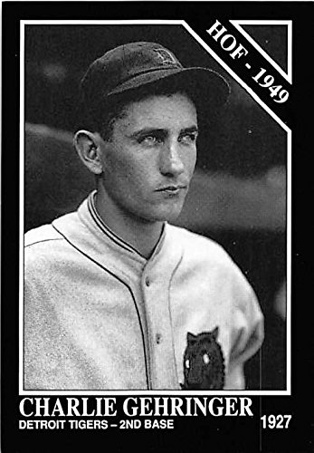 Mechanical Gents Collection - Charlie Gehringer baseball card (Detroit Tigers Hall of Fame Mechanical Man) 1992 Sporting News Conlan Collection #461