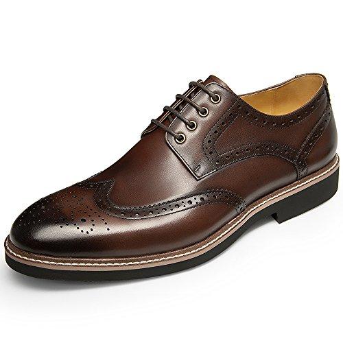 Scarpe Eleganti Da Uomo In Pelle Oxford Con Lacci E Scarpe Stringate Da Uomo Scarpe Moderne Con Lacci Blu Scuro