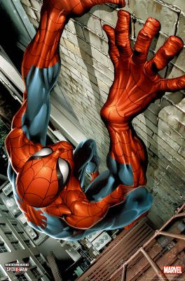 Laminated Ultimate Spider-Man Comic Poster Print
