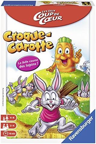 Ravensburger Croque Carotte Coup de cœur Niños Juego de apuestas - Juego de Tablero (Juego de apuestas, Niños, 15 min, Niño/niña, 4 año(s), 8 año(s)): Amazon.es: Juguetes y juegos