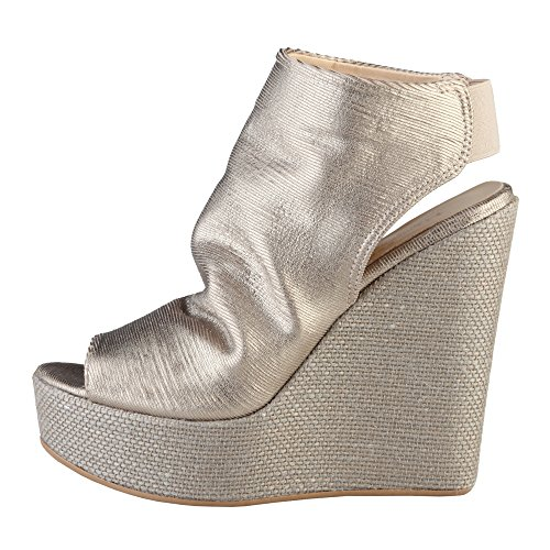 Italia Femme Made Corinna pour Or in Mules 51Tq6