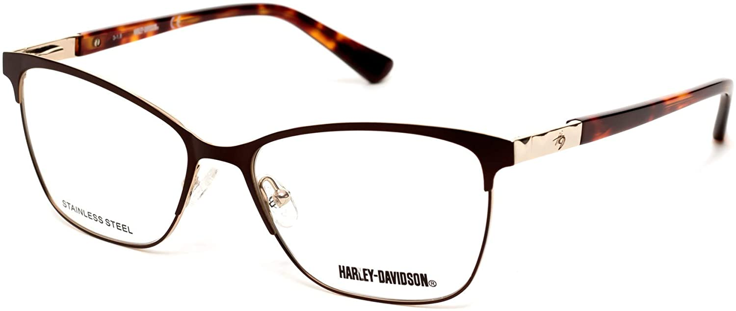 Eyeglasses Harley-Davidson HD 0547 049 matte dark brown