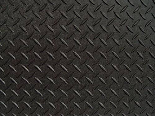 Auto Care Products 84200 Diamond Deck 2 Car Garage Kit with (2) 7.5' x 24' and (1) 5' x 24' Floor Mats, Black Textured by Auto Care (Image #2)