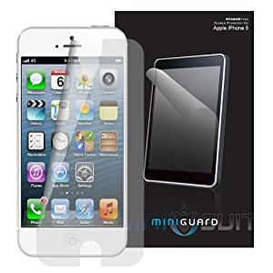 MiniGuard Screen Protector for Apple iPhone 5 (Front Only - Anti Glare 3x Pack)