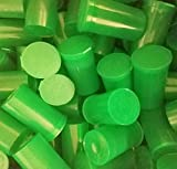 Box of 30-19 Dram Green Translucent Pop Top Bottle Medical Rx Vial Herb Pill Box Container