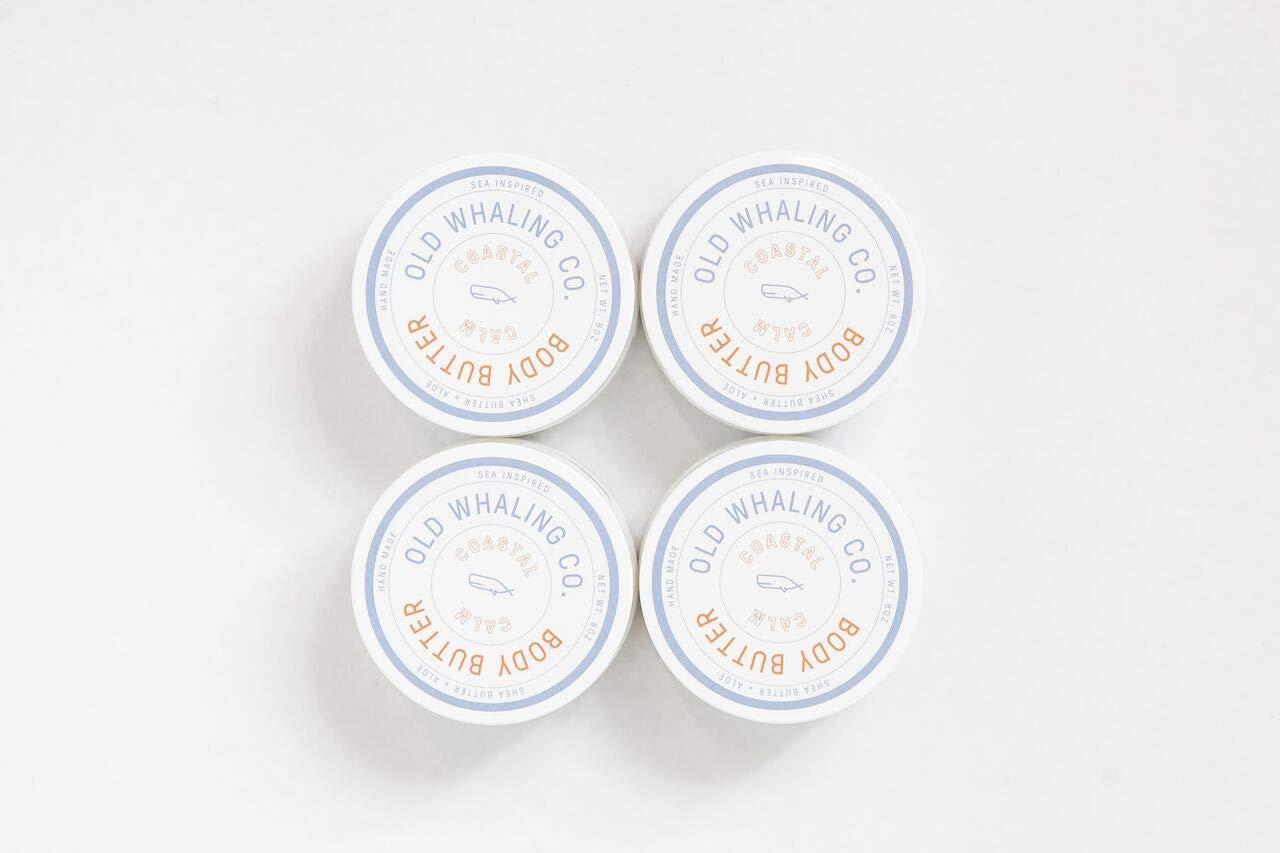 FOUR Coastal Calm Body Butter || handmade lotion/shea butter/aloe vera/paraben free/mineral oil free/moisturizing / best seller