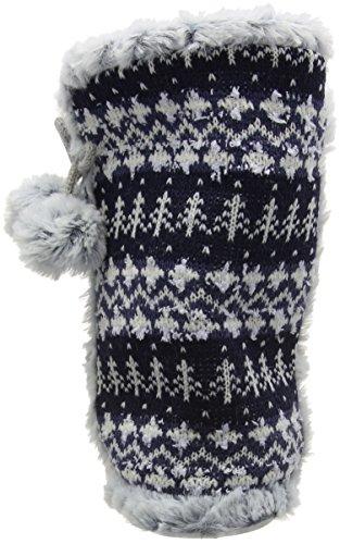 Dunlop Abelle, Zapatillas de Estar por Casa para Mujer Azul - azul (Navy)