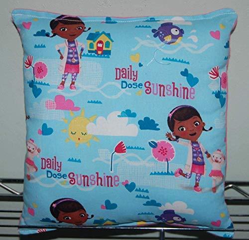Doc Mcstuffin Pillow HANDMADE (New) Mcstuffin doc Mc Stuffins Pillow Handmade in USA Pillow is approximately 10