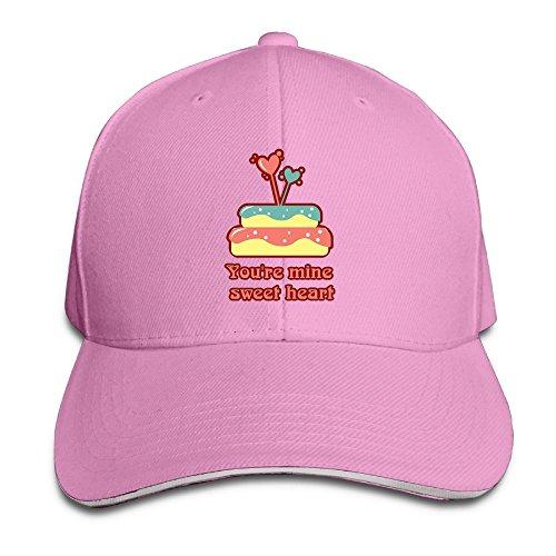 D8Ds Caps You're Mine Sweet Heart Cartoon Men Unisex Low Profile Caps Adjustable Hat Cotton Hat by D8Ds Caps
