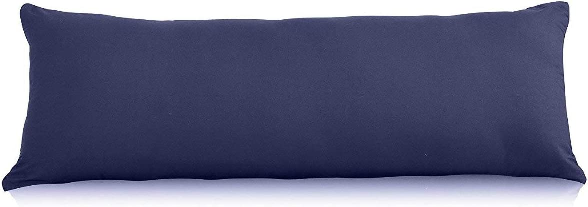 Bolster Pillow Case Cover Pregnancy Maternity Orthopedic Support comfort and Soft case cover in Black Single 3 FT 36