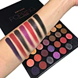 Beauty Glazed Pigmented Eyeshadow Palette Matte and Shimmer 35 Colors Eyeshadow Palettes Colorful Bright Colors Eye Shadow Professional Makeup Palettes
