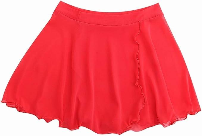 Maritown Falda de Malla para niñas Vestido de Falda de Cintura ...