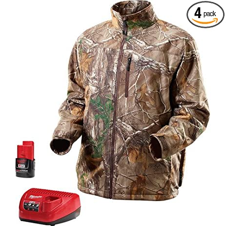 milwaukee 2393-xl m12 camo heated jacket kit xl - - .com