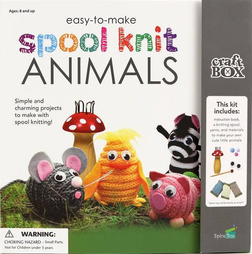 Easy-to-Make Spool Knit Animals: Simple and Charming Projects to Make With Spool Knitting! (Craft Box)