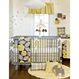 Brea 4 Piece Baby Crib Bedding Set with Bumper by Glenna Jean