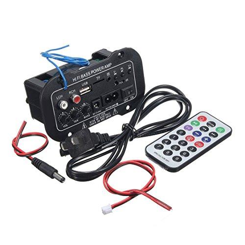 Exiao2MX 220V Amplificador de Bluetooth del Coche Hi-Fi Junta de Amplificador de Potencia bajo para Coches de automóviles...