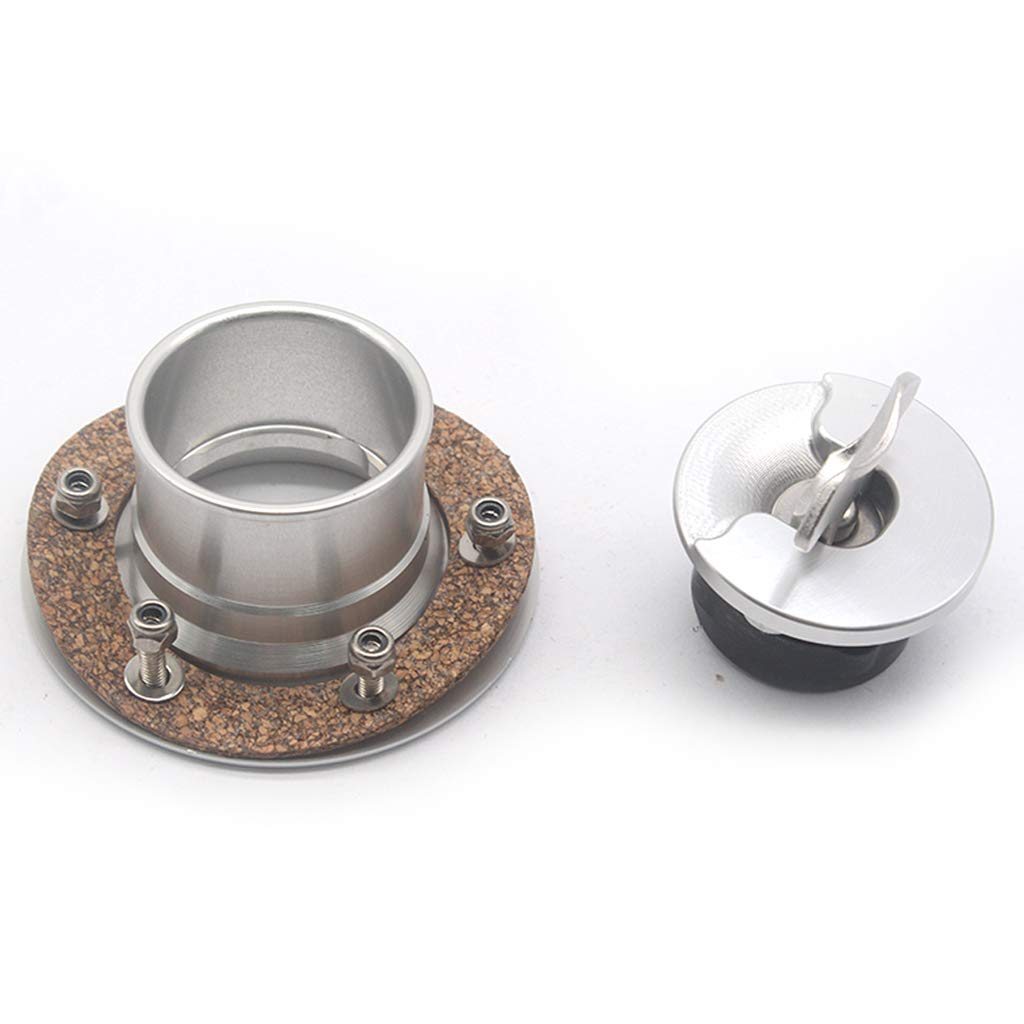 Flameer Stainless Steel Fuel Cell//Fuel Surge Tank Cap Flush Mount Cap