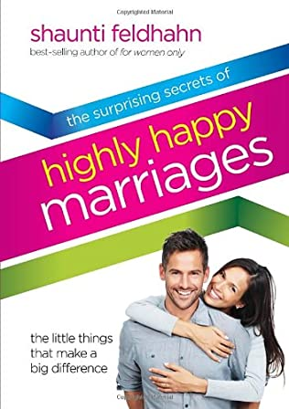 book cover of The Surprising Secrets of Highly Happy Marriages