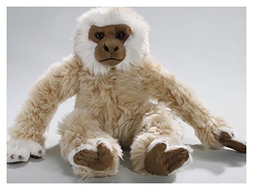 Monkey Gibbon 8 inches, 12.5 inches from head to foot, 20cm/32cm, Plush Toy, Soft Toy, Stuffed Animal - Gibbon Monkey
