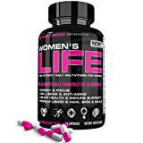 Multivitamin For Women By Life's Armour | High Potency Multivitamin Supplement For Women To Support Energy, Focus, Heart Health, Well-Being, Anti-Aging, Immune Support, Libido, Hair, Skin, and Nails Review