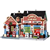 Lemax Village Collection Lou's Garage # 35515