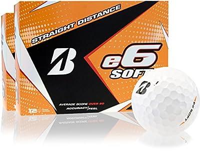 Bridgestone e6 Soft Golf Balls - 2 Dozen