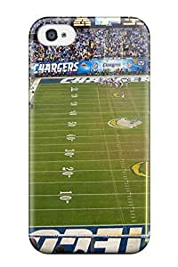 Case Cover Stadium Nflaniegohargers American Football Peopleports / Fashionable Case For Iphone 4/4s
