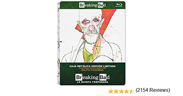 Breaking Bad - Temp. 5 Metalico - Bd [Blu-ray]: Amazon.es: Bryan Cranston, Anna Gunn, Aaron Paul, Vince Gilligan, Bryan Cranston, Anna Gunn, Vince Gilligan: Cine y Series TV