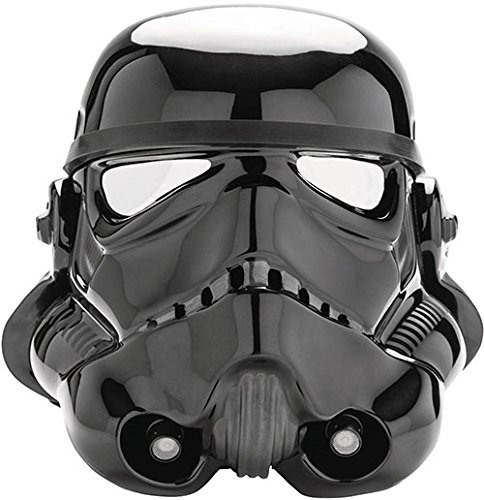 Star Wars Imperial Shadow Black Stormtrooper 1:1 Helmet ()