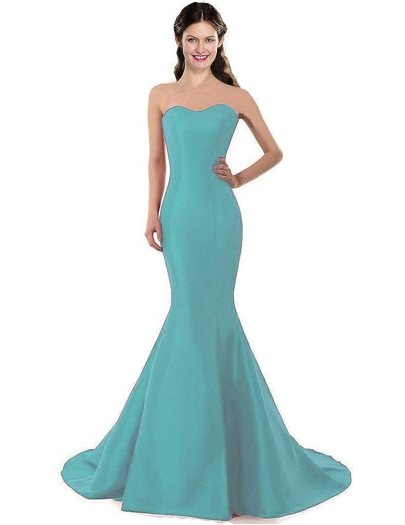 COLOREDRESS Color E Dress Design Brief Elegant Mermaid One-Shoulder Evening Dress EV-OHYN-RGCJ