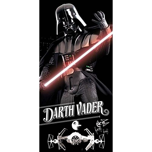 Star Darth Vader Beach Towel