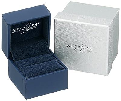 Men's Keepsake Signature 14k Two-Tone Gold 6mm High-Polished Wedding Band