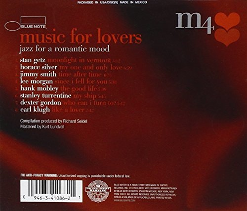 upc 094634108621 product image for Music For Lovers