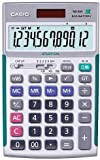 CASIO製 ND-26S プロ用実務電卓(ソフトケース付) (日本電卓技能検定協会推奨電卓、簿記検定推奨品)