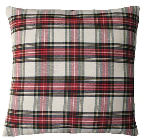 Textile London - Funda de cojín (Tela de algodón, 40,6 cm ...