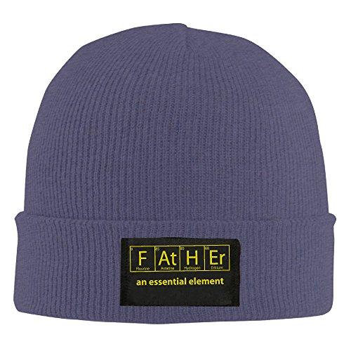 Father an Essential Element Beanie Hat Slouchy Beanie Winter 2016 Woolen Cap KnitCap BeaniesWomen Navy