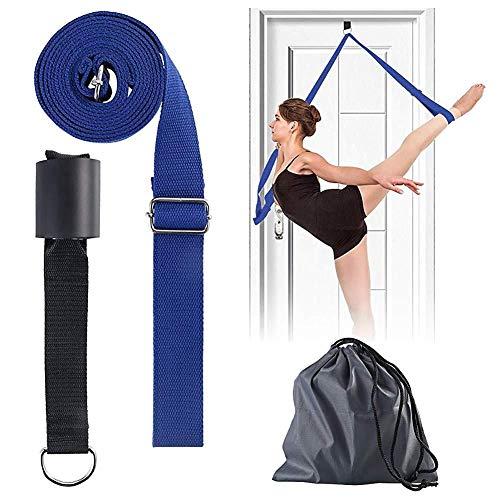 Dorime Ballet Belt Yoga Dance Gymnastics Or Any Sport Leg Stretcher Belt Advanced Stretching Door Flexibility…