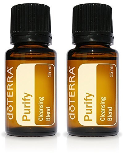 doTERRA Purify Essential Oil Cleansing Blend 15 ml ( 2 pack) by doTERRA