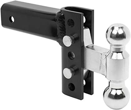 """ANDERSON HITCHES EZ HD /""""HEAVY DUTY/"""" HITCH 4/"""" AND 8/"""" DROP WITH STEEL COMBO BALL"""